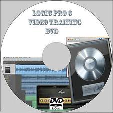 Apprendre Logic Pro 9 DVD 6 heures de vidéo de formation tutoriel Guide