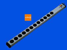 12-fach Überspannungsschutz-Steckdosenleiste +Netzfilter+Schalter | 3m-Zuleitung