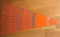 """10 Bahco 12"""" (300mm) Bi-Metal Sandflex Hacksaw Blades 24tpi"""