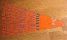 """10 x Bahco 12"""" (300mm) Bi-Metal Sandflex Hacksaw Blades 24tpi"""