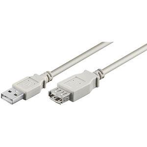 High-Speed USB 2.0 Verlängerungskabel Druckerkabel Scanner Kabel ext. Festplatte