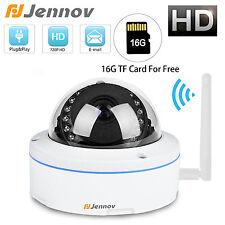 Jennov 16G SD 720P HD Wireless WiFi IP Camera Onvif CCTV SD TF Card outdoor IP66