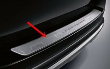 STAINLESS REAR BUMPER STEP GUARD FOR NEW TOYOTA FORTUNER 2016 GENUINE PARTS