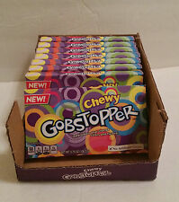 Wonka CHEWY Gobstoppers Candy 3.75oz RARE DISCONTINUED FRESH SEALED BOX
