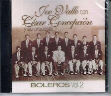 Joe Valle & Cesar Concepcion y su Orquesta BOLEROS VOL.2  RAND NEW SEALED  CD