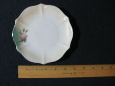 China Plate with Pink Flower Gold Rimmed - Includes Shipping!