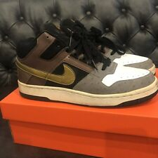 RARE Nike Delta Force 3/4 Deluxe Mita Japan Dark Oak Gold Black Grey Ostrich 10