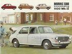 Morris 1300 & 1100 Mk II Saloon & Traveller Brochure  - 1967