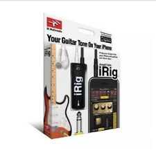 IK Multimedia AmpliTube iRig Guitar Interface for iPhone iPad iPod