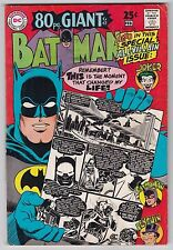 Batman #198 VG+ 4.5 Robin The Joker The Penguin Catwoman 80 Page Giant!!