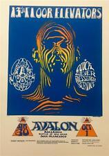 Stanley Mouse Alton Kelley Zebra Man Hand Signed Lithograph Avalon Ballroom S2