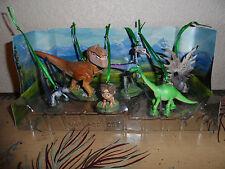 Disney Authentic The Good Dinosaur Movie 6pc Christmas Ornaments Figure Play Set