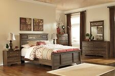 Ashley Allymore Queen Panel 6 Piece Bed Set Furniture B216