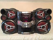 Panasonic SA-AK510 360 Watt Stereo System w Rare TriAmp