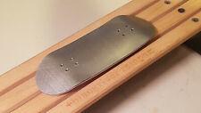 Classic Silver Metal Bottom Wooden Fingerboard Pro Deck