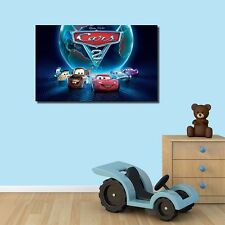 40×65×3cm Disney Pixar Cars Stretched Canvas Prints Framed Wall Art Home Decor