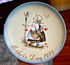 "Sister Berta Hummel Mother'S Day 1975 Plate in Box ""Message of Love"" Schmid Bros"