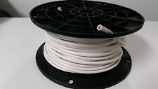 10 Gauge Wire White 500' Primary Awg Stranded Tinned Copper Power Remote Mtw