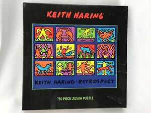Vintage 1998 Keith Haring Retrospect SEALED 750 Piece Jigsaw Puzzle Ceaco
