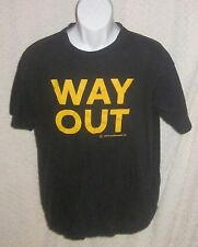 WAY OUT London Transport t-shirt size adult Large