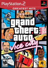 Grand Theft Auto: Vice City GH PS2 New Playstation 2