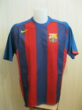 Barcelona 2004/2005 home Size XL Nike shirt jersey maillot football soccer Barca