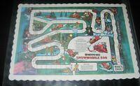 Vintage Snowmobile Dice Board Game Moto-ski 500 1960s/1970s RARE Collectible