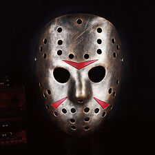 Jason Voorhees Friday the 13th Part 7  Costume Resin Hockey Mask Vorhees Masks