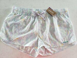 PATAGONIA Wm's Stretch Planing Micro Shorts TENCEL FUSION/PURA PURPLE Lg $49 NWT