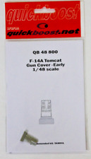 Quick Boost F-14A Tomcat Gun Cover, Early , Upgrade 1/48 800 For Tamiya Kit