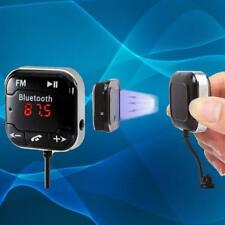 Magnetic Car Kit Wireless Bluetooth 4.0 FM Transmitter MP3 Player LCD Remote UP
