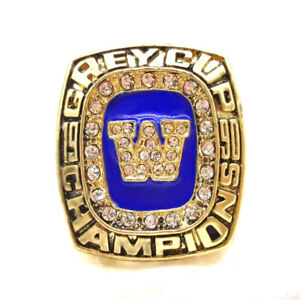 1990 Winnepeg Blue Bombers Grey Cup, HULL Championship Ring, All Size Available