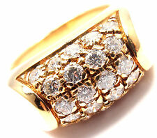 bvlgari bulgari 18k yellow gold diamond band ring