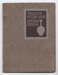 American Art Pottery Booklet 1890s Mablehead Osgood Robineau Pewabic Badger Pott