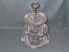 "Johnson Bros. ""Indian Tree"" 3-Tier Hostess Cake Plate Stand (V1)"