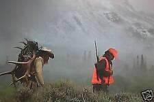 "Federal Elk Hunting Print ""Pursuing The Dream"""