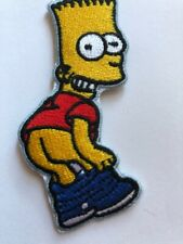 Bart Simpson - Pants Down Mooning Iron/Sew on Patch