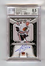 2012-13 Crown Royale Auto Jersey Jonathan Toews BGS 8.5 NM-Mint+ Autograph 10