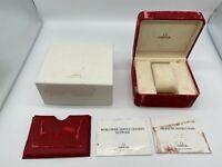 Genuine OMEGA seamaster  watch  BOX vintage speedmaster empty 0408022A92