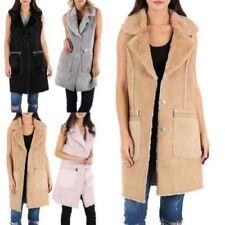Abrigos y chaquetas de mujer sin marca de piel sintética