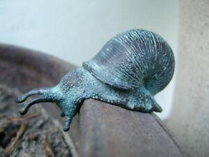 Bronzefigur Mini Schnecke