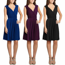 Casual Sleeveless Dresses for Women with Pleated