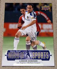 2011 Upper Deck LANDON DONOVAN SOCCER Card USA Olympics LA Galaxy MLS Forward