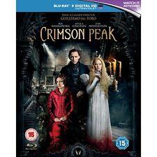 Crimson Peak Blu-ray UV Copy 2015 - DVD P4vg