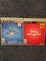 LOT of 2 PS3 Disney Infinity  2.0 & 3.0 EDITION COMPLETE GAMES ONLY