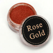 Pigment Polish Effect Glitter Mirror Powder Rose Gold 2g Nail Art Chrome