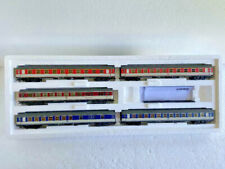 "Märklin HO_43919_DB ""Pop Colors"" Express Train Passenger 5 Car Set. New IOB"