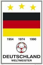 GERMANY NATIONAL FOOTBALL TEAM ~ LOGO ~ 24x36 FIFA POSTER World Cup Soccer 0400