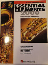 Essential Elements 2000 Bb Tenor Saxophone Book 2