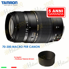 Obiettivo Tamron EF 70-300 mm Canon EOS 700D 650D 600D 1200D 1000D 1100D 750D 7D